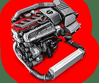Audi RS3 TT-RS 2.5 TFSI Motor (offizielle Grafik)