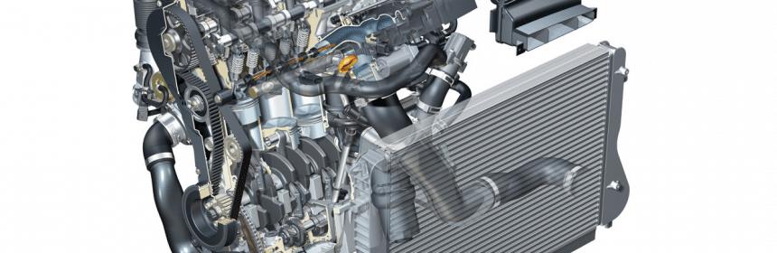Audi S3 8P Motor (offizielle Grafik)